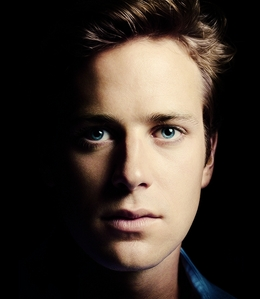 Armie's mesmerizing eyes