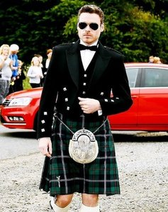hot lad in a kilt