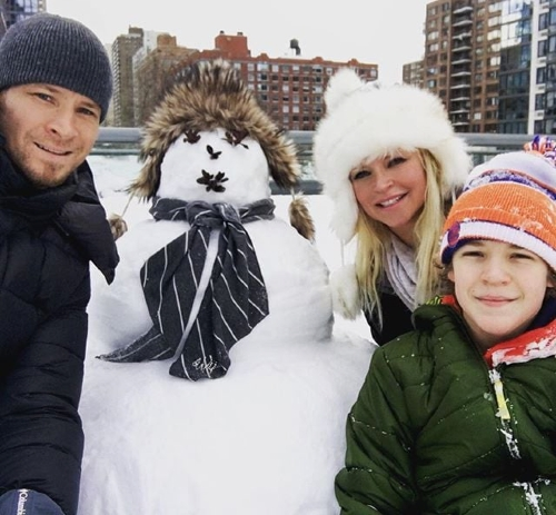 Brian and his wife plus son !
