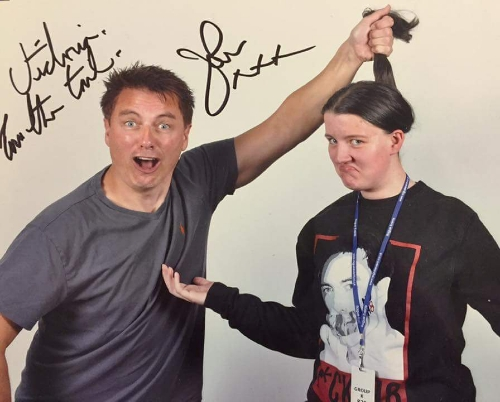Barrowman & Me at City Of ヒーローズ 2 Convention back in 2016 ! My first ever con ...