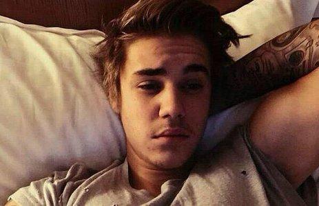 tired Bieber eyes
