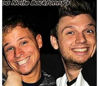 cheeky Backstreet Boys smiles