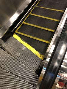 Escalators. Fuck that shit almsot killed me when I was a kid.