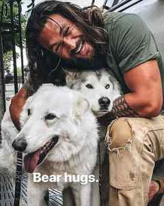 Jason and Huskies :)
