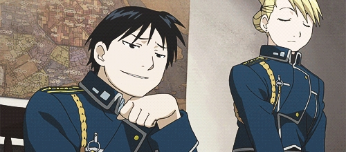My favorite anime is Fullmetal Alchemist: Brotherhood, and it goes like this: