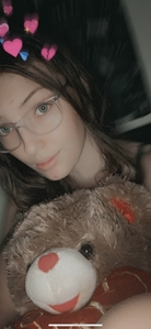 Brown hair green eyes