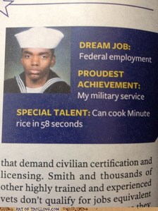 Your special talent?