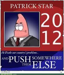 Patrick তারকা for president.