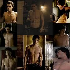 who chest is hotter! Damon or Stefans!