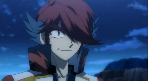 アニメ character with RED eyes!