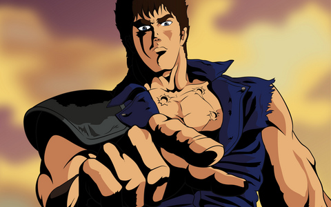 Post a picture of a badass アニメ guy