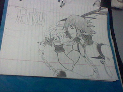 what do आप think of my Riku drawing?