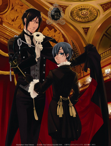 What would آپ do if آپ ran into Ciel and Sebastian?? ;3 (imagine me saying Sebastian in a slow british accent) XD