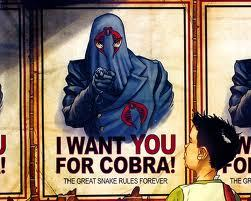 would Du Mitmachen corbra from gi joe if it was real in real life?