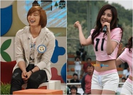 post a pic of seohyun and ur favori couple with her. U can do 2 pics of different couples but no plus than 2.