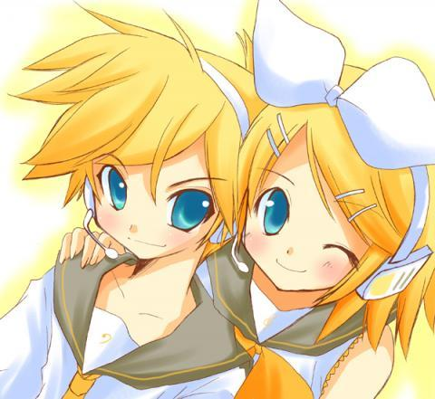 Post an 아니메 character that has golden/blonde hair.