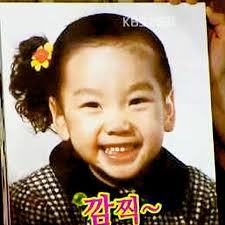 add apic four your fav member wen she\he was a child