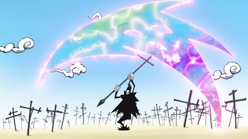 Post An Anime Character That Posses A Strong Weapon