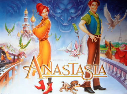 How come Anastasia is never included in the group of non Disney princesses?