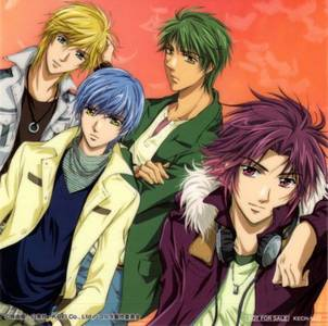 can somebody tell me what anime these guy's are from cause i have seen these guys before there hot !!!! :DDDDDDDDDD