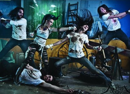 What do 당신 think about The Agonist, canadian's metal band and albums?