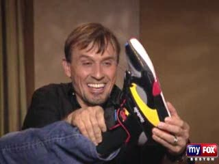 Post a pic of your fav actor wearing funny shoes