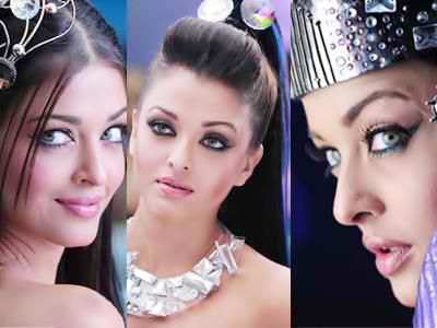 post a pic of aish in the movie robot