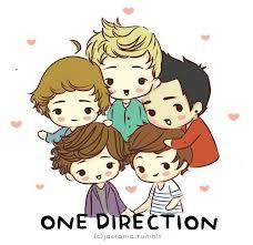 Post a pic of One Direction cartoon Version.Good Luck