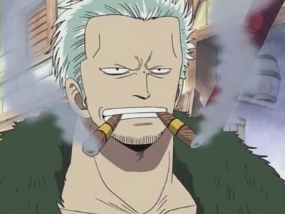 post an 아니메 character that smokes