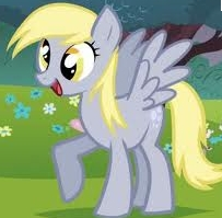 why did they take Derpy off of My Little Ponies?