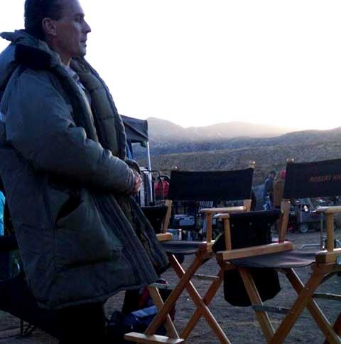 Post a pic of your fav actor with his actor´s chair