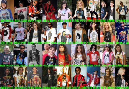 Does anyone here has a pic of Zayn Malik wearing a Michael Jackson shirt? He tweeted about wearing a MJ kemeja last tahun on MJ's birthday if anyone has it please message me so I can add Zayn to this pic along with all artis wearing MJ kemeja
