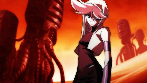Post an anime character wearing a kofia