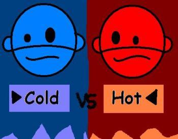 Which is faster Heat oder Cold? Explain ?