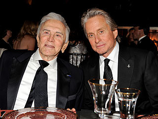 Post a pic of a famous father and son together.Mine is Kirk Douglas and his son Michael