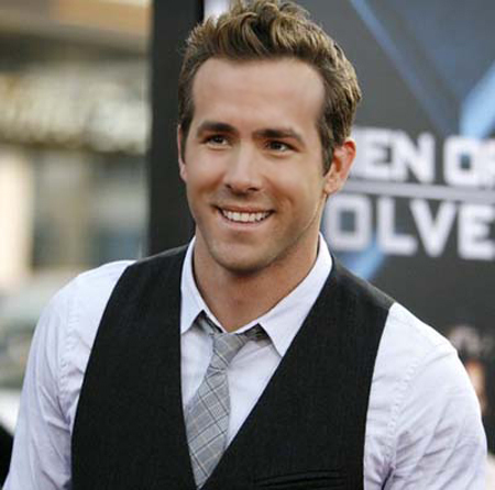Post a pic of an actor whose first and last name starts with the same letter.Mine is Ryan Reynolds.