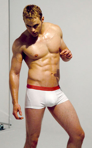 Post a pic of an actor in just a pair of ボクサー briefs and nothing else.Mine is Kellan Lutz in his Calvin Klein ボクサー briefs.
