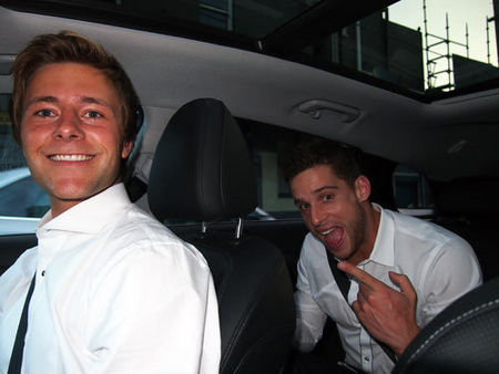 Post a picture of your favourite actor in a car.