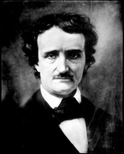Is there anyone out there that thinks Poe is not only a great writer, but attractive as well?