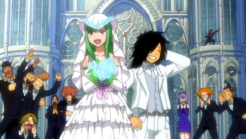 post an anime couple who get married