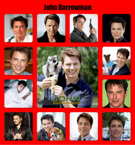 Post a picture of an actor which has a animal in it.
