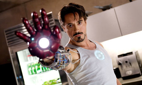 Post a hot picture of Robert Downey Jr in The Avengers Assemble.