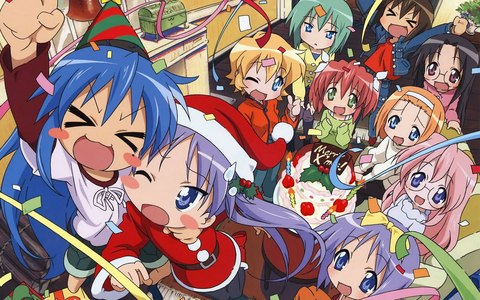 10th hari of Christmas- Post anime character's having a natal party!