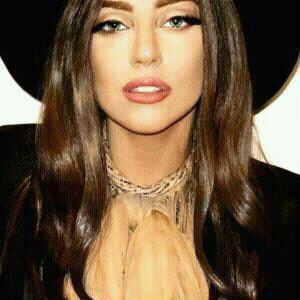 Lady Gaga With Brunette Hair 2