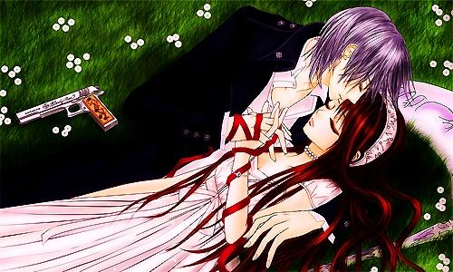 post a anime romantic kiss - Anime Answers - Fanpop