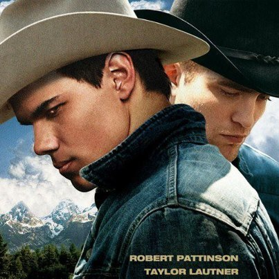 Post a pic of your actor wearing cowboy hats.Mine is Robert and Taylor as cowboys(a la Brokeback Mountain).