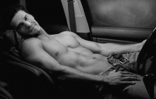 Post a black and white pic of your actor shirtless ...