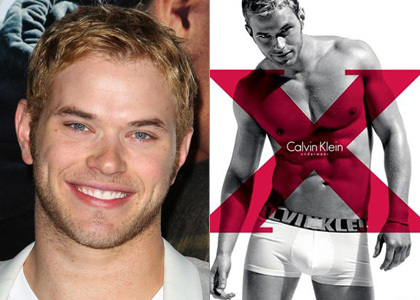 Post a pic of your actor in boxers.Here is Robert's Twilight co-star Kellan Lutz modeling Calvin Klein মুষ্টিযোদ্ধা briefs.