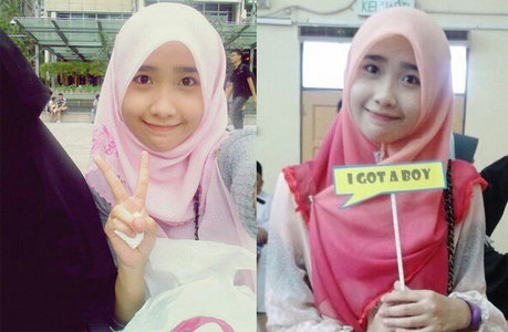 Do you think that Rabi'atul Afifah (a girl from Malaysia) really Looks Like Yoona?