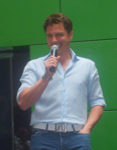 Post a picture of an actor where あなた can see his nipple through his shirt.
